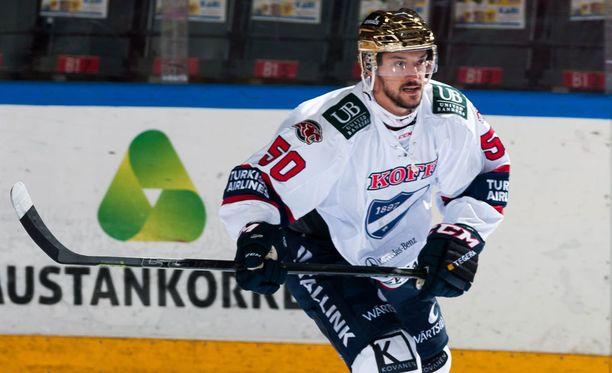 Juhamatti Aaltonen teki IFK:n voittomaalin.