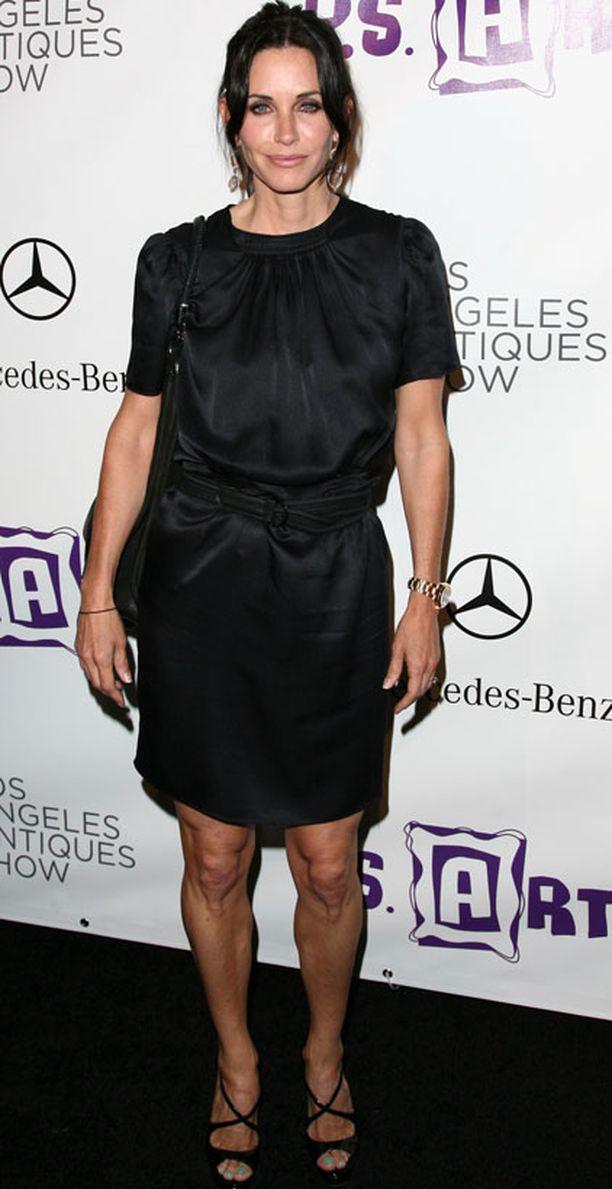 Courteney Cox-Arquette oli ainoa Frendit-sarjan päätähdistä, joka ei saanut roolistaan Emmy-ehdokkuutta.