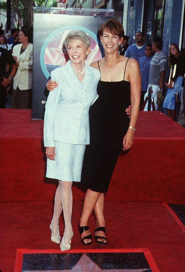 Janet Leigh ja Jamie Lee Curtis.