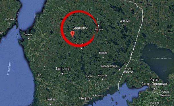 Saarijärvi sijaitsee Keski-Suomessa, noin 60 kilometrin päässä Jyväskylästä.