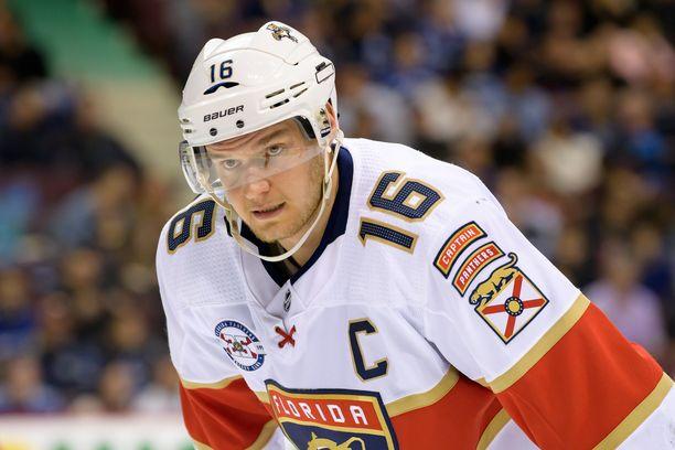 Barkov on Florida Panthersin kapteeni ja tärkein yksittäinen pelaaja.