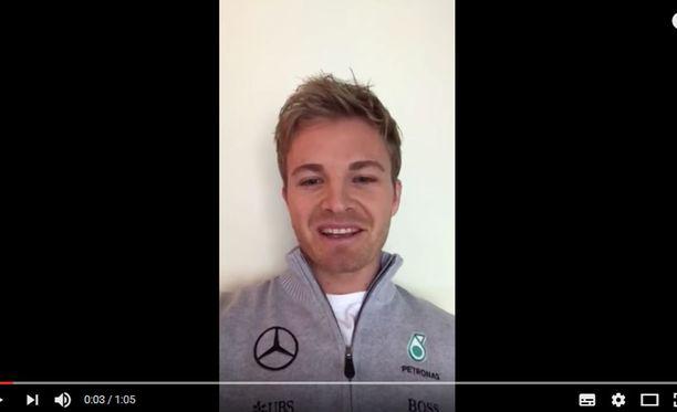 Nico Rosberg perusteli lopettamispäätöstään Mercedeksen julkaisemalla videolla.