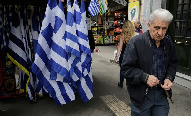 Kreikan synkkään taloustilanteeseen haetaan muutosta Riiassa.