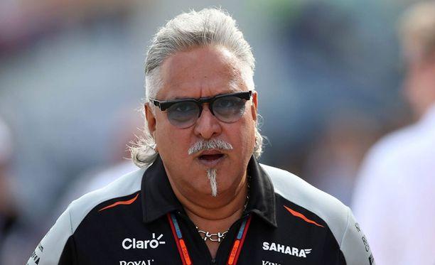 Liikemies ja F1-pomo Vijay Mallya pidätettiin Lontoossa.