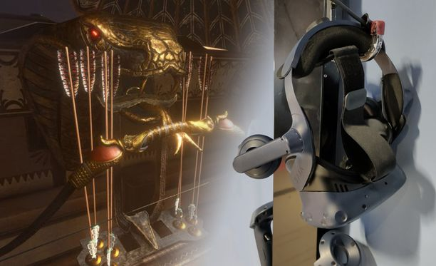 Ubisoft on kehittänyt VR:lle oman pakopelin, jolle on tiedossa jatkoa.
