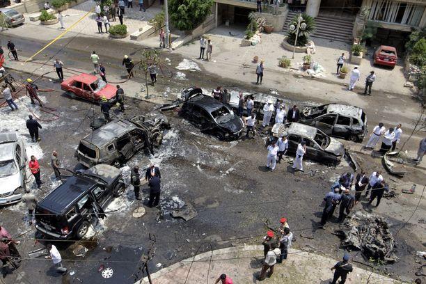 Hisham Barakat surmattiin autopommi-iskulla Kairossa vuonna 2015.