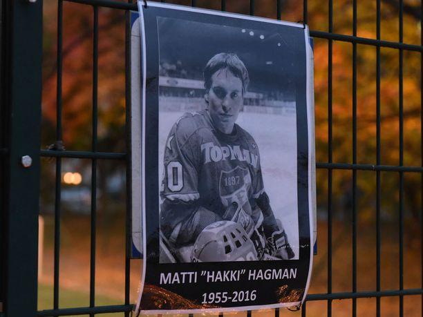 """Matti """"Hakki"""" Hagman muistetaan yhtenä suurimmista IFK-legendoista."""