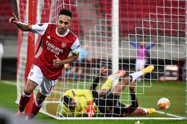 Pierre-Emerick Aubameyang on ollut Arsenalin tehokkain maalipyssy viime vuodet, mutta kuluva kausi on ollut gabonilaiselle vaikea.