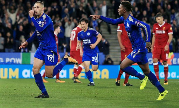 Liverpool joutui tunnustamaan Leicesterin paremmakseen.
