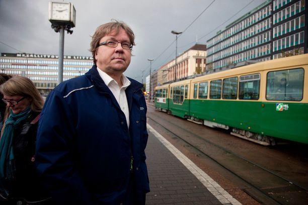 Sinnemäki voitti vihreiden pormestarikilpailussa Pekka Saurin.