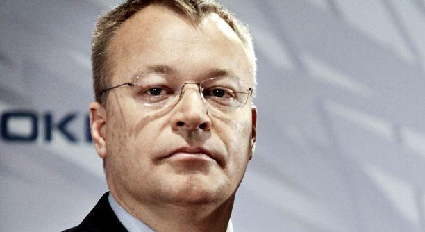Nokian toimitusjohtaja Stephen Elop avautuu elämästään Kauppalehti Option haastattelussa.