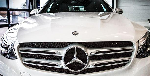 Mercedes oli brittitutkimuksen ykkönen.