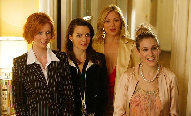 Siihen on syynsä, miksi Sinkkuelämää-sarja seurasi neljän miehen sijaan naisnelikköä.