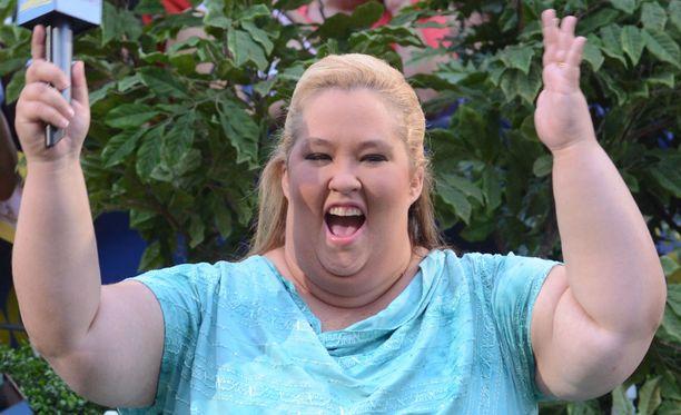 Tältä Mama June näytti ennen painonpudotustaan.