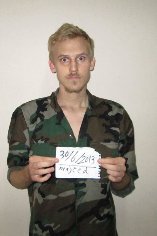 Vangitsijat kuvasivat silminnähden riutuneen Daniel Ryen reilu kuukausi hänen sieppaamisensa jälkeen.