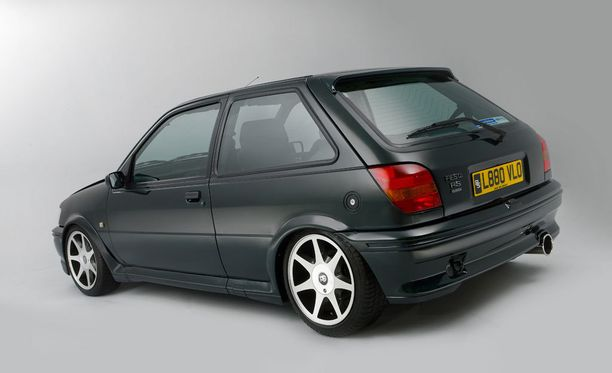 Vuoden 1993 Ford Fiesta Mk3