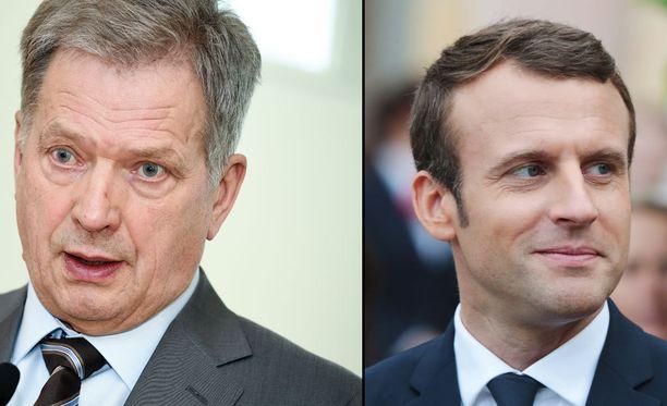 Niinistö ja Macron keskustelivat puhelimessa.
