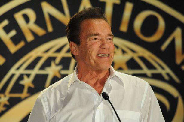 Arnold Schwarzenegger tämän vuoden alussa, vain muutamaa kuukautta ennen sydänoperaatioon joutumistaan.
