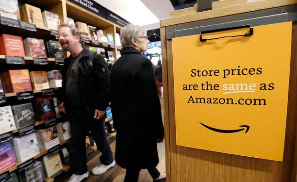 Nettikauppaa hallitseva Amazon avasi ensimmäisen kivijalkakirjakauppansa Seattlessa marraskuun alussa.