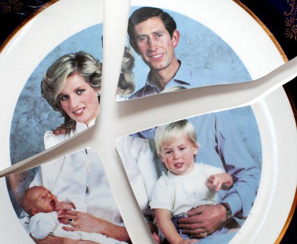 Dianan ja Charlesin liitto ei ollut onnellinen.