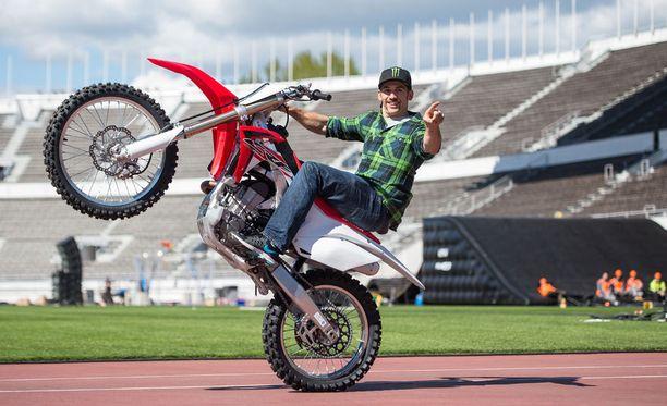 Josh Sheehan saattaa jopa jäädä ainoaksi ihmiseksi, joka on kiepauttanut pyöränsä ilmassa kolmasti takaperin ympäri.