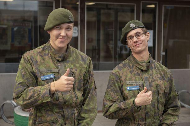 Suunnitelmat saivat kiitosta Aaro Honkalalta ja Juhani Kolehmaiselta.
