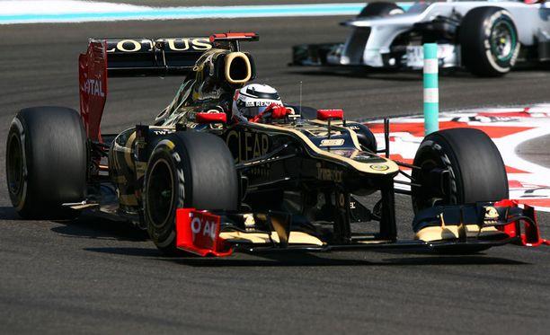 Räikkönen kaasutteli viidenneksi.