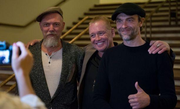 Jani, Jiri ja Joona Jalkanen ovat olleet tiiviisti läsnä isästään kertovan elokuvan suunnittelussa.