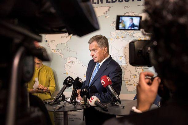 Presidentti Sauli Niinistö on ottanut hyvin näkyvän roolin ulkopolitiikan johdossa Venäjän suuntaan.