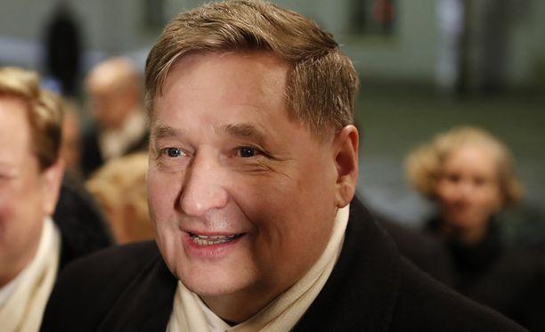 Markku Rossi ei enää jatka eduskuntatyötä.
