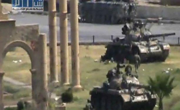 Syyrian hallitus puuttuu protesteihin kovin ottein.