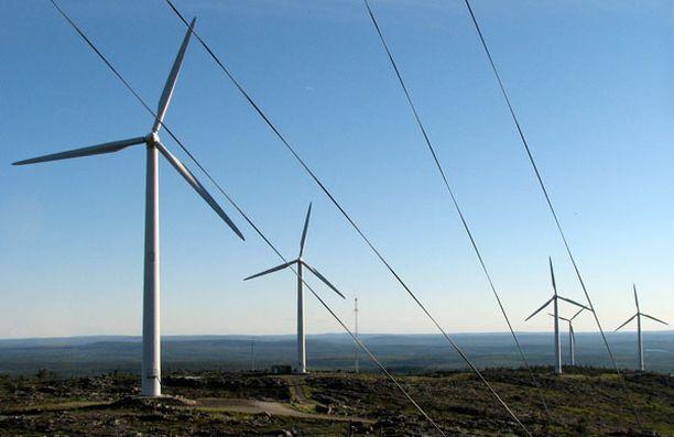 Noin 200 miljoonaa tuista kuluu tuulivoiman ja biokaasun takuuhinnan maksamiseen.