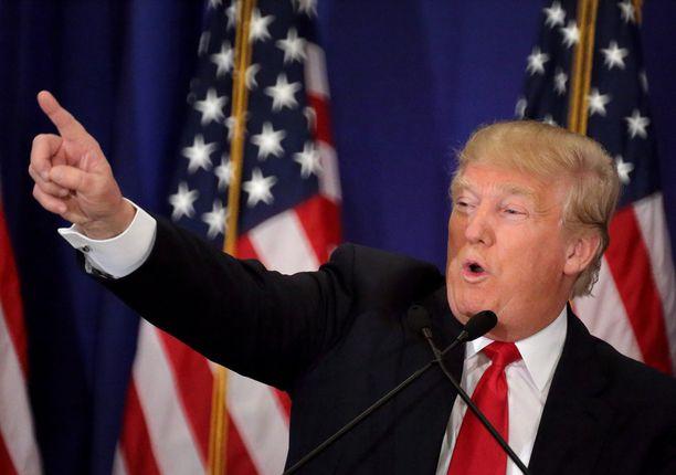 Donald Trump vei tänään kolme osavaltiota neljästä.