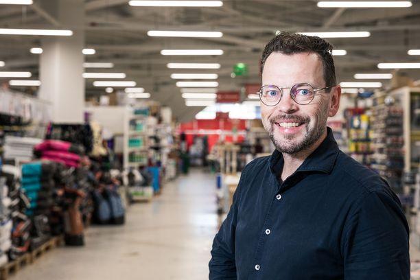 Puuilon toimitusjohtaja Juha Saarela.
