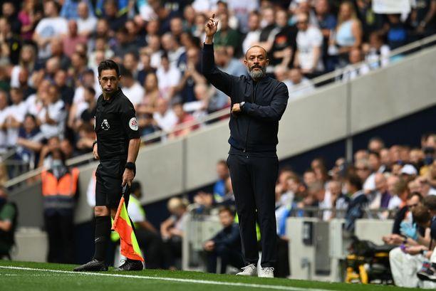 Nuno Espirito Santon avaus Tottenhamin valmentajana Valioliigassa oli onnistunut.