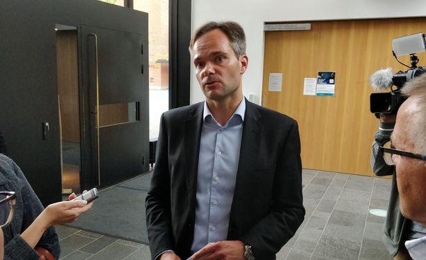 Sisäministeri Kai Mykkänen (kok) sanoo, että palautusjonon piteneminen on suurin muutos Suomen turvallisuusympäristössä 2019.