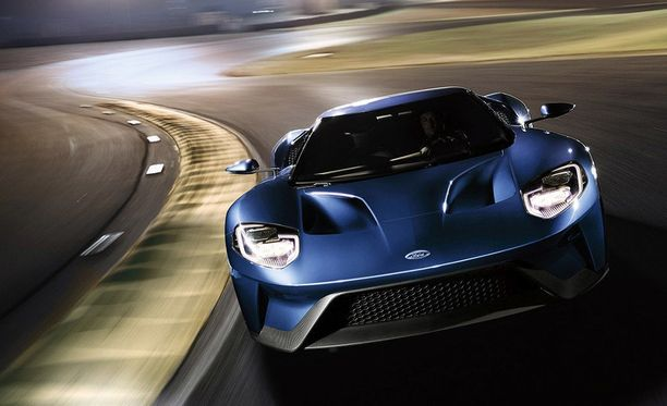 Vuoden 2017 Ford GT.