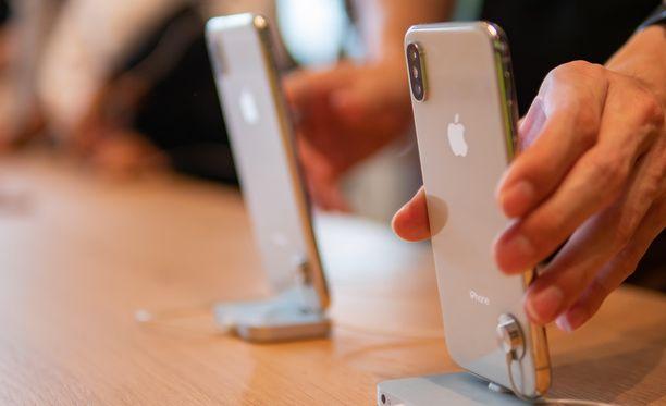 Iphone-puhelimia pystytään valmistamaan myös Kiinan ulkopuolella.