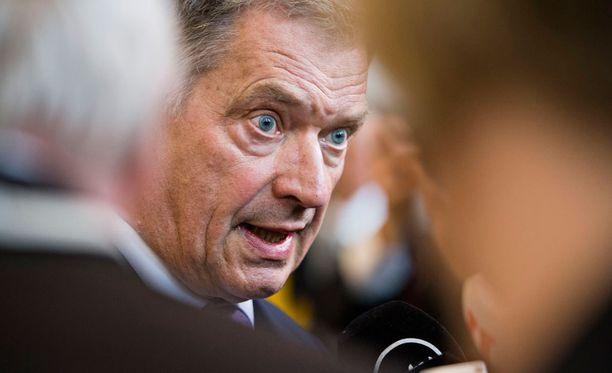 Presidentti Sauli Niinistö tuomitsi iskun Orlandoon.
