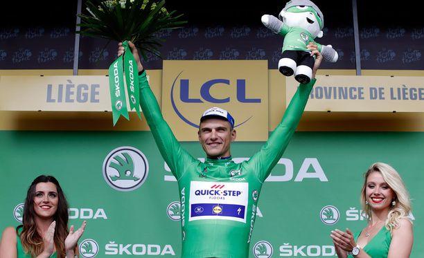 Marcel Kittel otti etappivoiton.