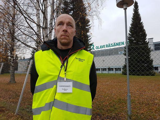 Pääluottamusmies Marko Kaipainen toivoo sopua mahdollisimman pian. Kolmikantaan pitäisi mennä.