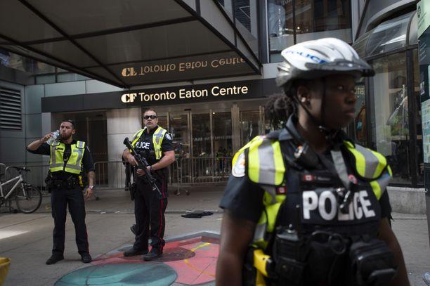 Torontossa on ammuskeltu Toronto Raptorsin mestaruusjuhlissa maanantaina 17.6.2019.