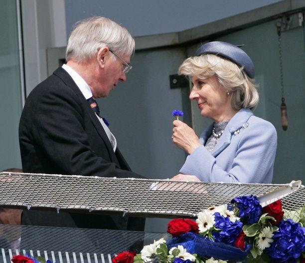 Prinssi Richard , Gloucesterin herttua ja Birgitte, Gloucesterin herttuatar.
