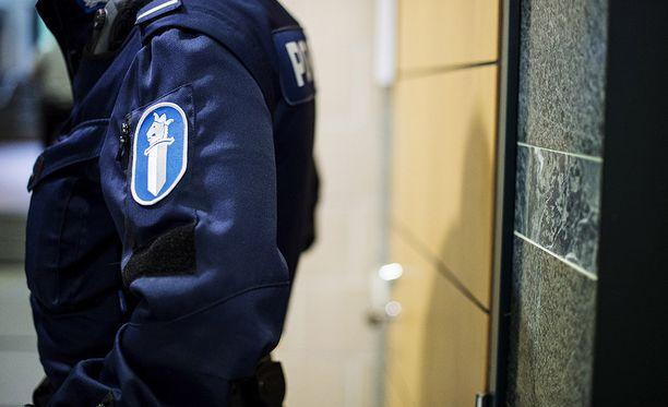 Poliisi tutkii mahdollista laitonta uhkausta. Kuvituskuva.