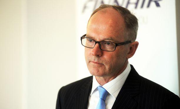 Pekka Vauramo jättää tehtävänsä Finnairin toimitusjohtajana.