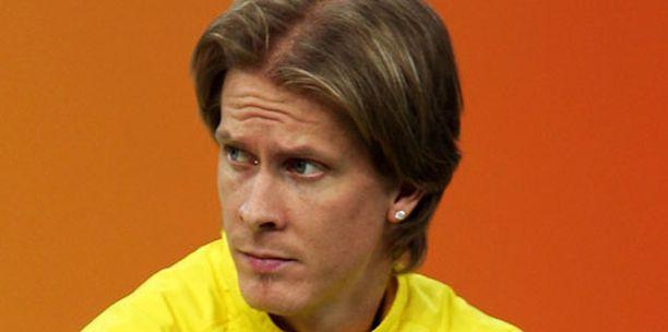 Christian Olsson on yksi Ruotsin maajoukkueen monista loukkaantuneista urheilijoista.