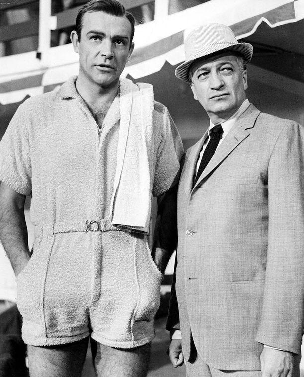Jos Sean Connery uskaltautui James Bondina pukeutumaan sukupuolittamattomaan romperiin, uskallat sinäkin, mies.