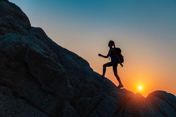 Edessä oleva este voi olla mielessäsi uhka tai mahdollisuus.