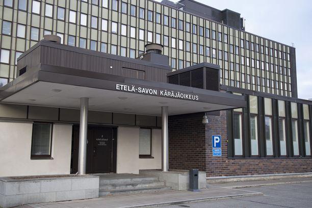 Etelä-Savon käräjäoikeus vangitsi epäillyn viime viikon loppupuolella. Arkistokuva.
