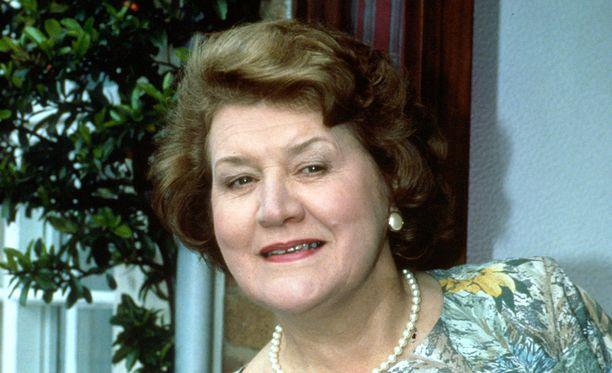 Patricia Routledge muistetaan parhaiten Pokka pitää -sarjan Hyacinth Bucketina.